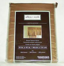 Allen Roth Curtains Alison Stripe by Allen Roth Polyester Modern Curtains Drapes U0026 Valances Ebay