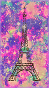 Vintage Paris Galaxy Wallpaper Androidwallpaper Iphonewallpaper Sparkle Glitter