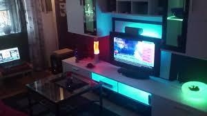 ikea led dioder wohnzimmer indirekte beleuchtung living