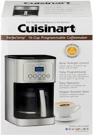 Cuisinart PerfecTemp 14 Cup Programmable Coffeemaker 10 CT Description