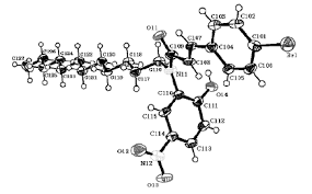 Perspective View Of One Molecule From The Asymmetric Unit Acrylamide 5 With Atom