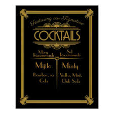 cocktail bar posters zazzle canada