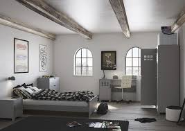 steens einzelbett loke modernes jugendbett im industrial look