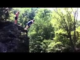 The Sinks Smoky Mountains by Cliff Diving The