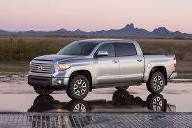 Chicago Auto Show: Toyota Unveils New Tundra Full-size Pickup - Los ... 2018 Toyota Tundra Expert Reviews Specs And Photos Carscom What Snugtop Do You Think Looks Better Page 2 Forum In Nederland Tx New Fullsize Pickup Truck Nissan Titan Vs Clash Of The Pickups The 11 Most Expensive Trucks 2017 1794 Edition 4x4 Review Motor Trend A Fullsize Truck With Options Automotive News Double Cab Is A Serious Pickup Talk 5 Things Need To Know About Trd Pro Wikipedia T100 Frame Rust Lawsuit Deal Reached