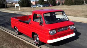 100 Corvair Truck For Sale 61 Rampside Walk Around And Engine Running YouTube