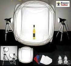 IN A BOX 1000 watt output PHOTO LIGHT TENT PHOTOGRAPHY SET $399