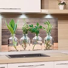 grazdesign spritzschutz küche für herd küchenrückwand glas