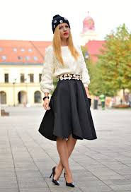 how to wear high waisted skirts 2017 fashiontasty com