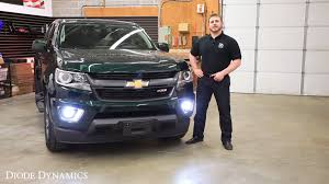 how to install chevrolet colorado fog light leds