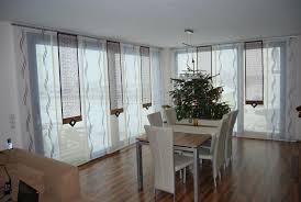 große schiebegardine fürs ess wohnzimmer in beige lila we
