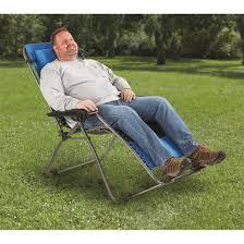 guide gear oversized 500 lb zero gravity chair blue 677555