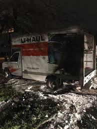 100 Uhaul 14 Truck UHaul Truck Fire Under Investigation
