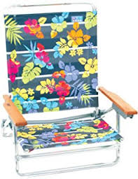 Rio Backpack Beach Chair With Cooler by Amazon Com Rio Brands 5 Position Classic Lay Flat Beach Chair