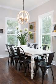 White Painted Walls Dining Table