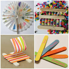 Crafting With Popsicle Sticks