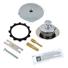 Bathtub Overflow Plate Fell Off by Watco Nufit Presflo Bathtub Stopper With One Hole Overflow And
