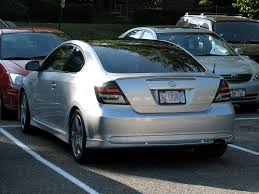 pic request silver tc w smoked tails scion tc forums