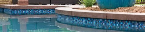 pool faqs when waterline tiles on a fiberglass swimming pool