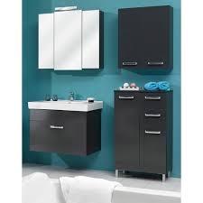 badezimmer hängeschrank in anthrazit glanz mainz 60 x 70 cm