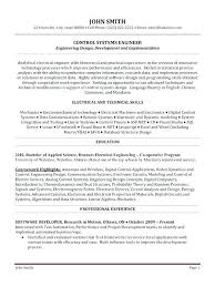 Professional Engineering Resume Samples For Freshers Engineer Best System Sample 9 Network Templates Images