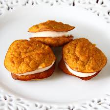 Pumpkin Whoopie Pies Gluten Free by Showfood Chef Pumpkin Pie Cookies 4 Ingredients Simple