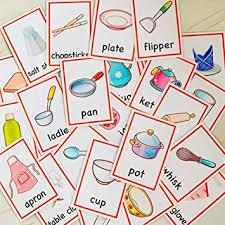 n r kinder küche badezimmer karte englisch flashcard