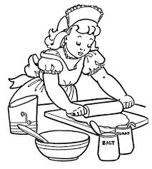 baking clipart black and white 949