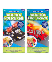 Horizon Group USA Wooden Police Car & Firetruck Craft Kit Set | Zulily Wooden Fire Truck Build Your Own Kit Michiel Van Dijk Gabriola Volunteer Fire Department Colgate Kids Cavity Protection Value Pack Bubble Fruit Paste Shop Metrotami Brickyard Apparatus Iaff Local 525 Stations 911 Rapid Response Public Safety Store Emergency Commercial Home Svi Trucks Customfire Built For Life Lego City 911 Build Your Own Adventure Book Set Review Truck Kit Horizon Group Usa Ebay