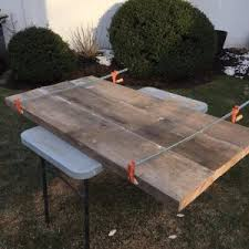 how to build a farm table from reclaimed barn wood