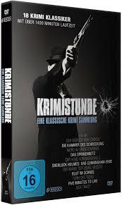 krimistunde klassische krimi sammlung 6 dvds jetzt