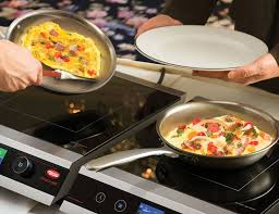 induction cuisine hatco s rapide cuisine takes induction cooking to the level