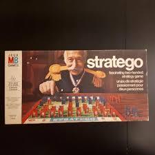 Vintage Stratego Board Game