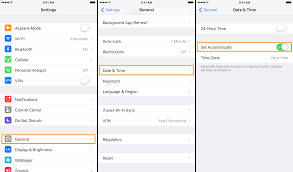 iPhone or iPad showing the wrong time Try these steps