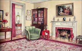1929 Modern Traditional Living Room