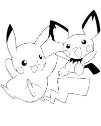 Coloring Pages Printable Pokemon Pikachu And Ash Pdf Of Mega Full Size