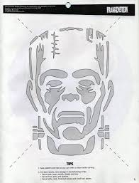 Printable Freddy Krueger Pumpkin Stencils by Frankenstein Carved Pumpkin Template Google Search Shirts U0026 Co
