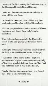 He Was Nowhere Else Rumipoems Rumi