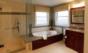 Tiling A Bathtub Deck by Granite Tub Deck With Border Tile Bathroom Traditional And Modern
