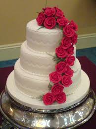 and amazing looking rose wedding cakes right now and make the wedding day special for the wedding couple Which one of the rose wedding cake design does