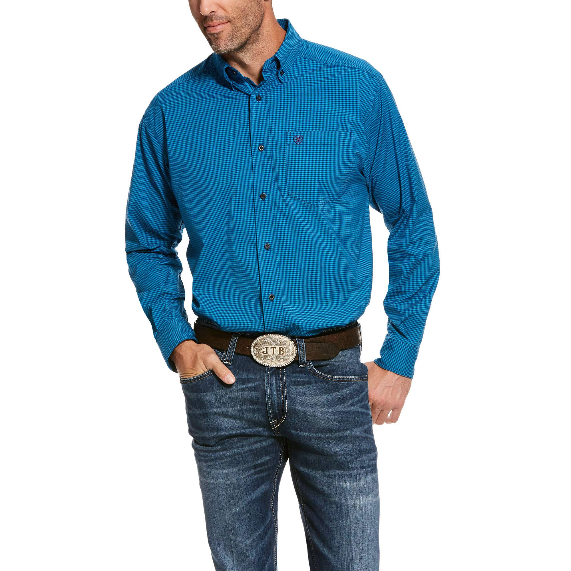 Ariat Men's Pro Series Stetson Stretch Classic Fit Shirt