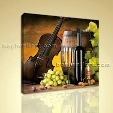 Canvas Wall Art For Dining Room by Hd Print Abstract Painting Wall Art On Canvas Wine Food Dining