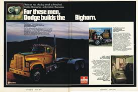Photo: April 1973 Dodge Bighorn Ad | 04 Overdrive Magazine April ...