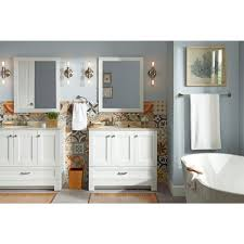 Glacier Bay Laundry Tub Cabinet by Glacier Bay Ivy Hill 36 In Vanity In White With Colorpoint Vanity