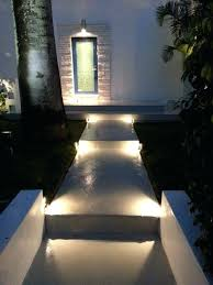 Led Pathway Landscape Lighting Modern Low Profile Accent Path Garden City Ny Weather