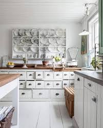 White Colour Scheme For Shabby Chic Kitchen Ideas 30 Ways To Upgrade Your Rental Apartment