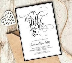 Renewal Wedding Invitations Shop