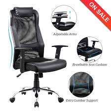 Amazon.com : VANBOW Extra High Back Mesh Office Chair - Adjustable ... Best Office Chairs And Home Small Ergonomic Task Chair Black Mesh Executive High Back Ofx Office Top 16 2019 Editors Pick Positiv Plus From Posturite Probably Perfect Cool Support Pics And Gray With Adjustable Volte Amazoncom Flash Fniture Fabric Mulfunction The 7 Of Shop Neutral Posture Eseries Steelcase Leap V2 Purple W Arms