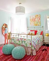 Unthinkable Colorful Girls Room Home Designs