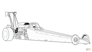 Click The Dragster Coloring Pages To View Printable